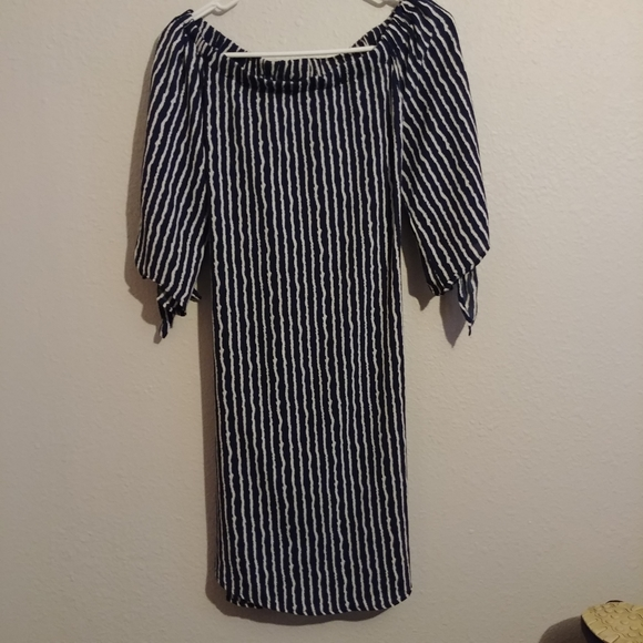 Staccato Off The Shoulder Shirt Dress Sz S